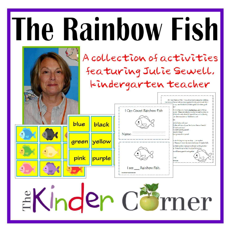 Rainbow Fish Activities Kindergarten The rainbow fish unit of study